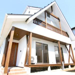 無垢の木を多く使った本格的な和風健康住宅