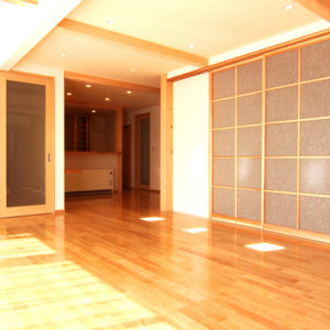 木材を多く使った家